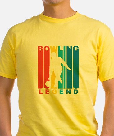 Retro Bowling Legend T-Shirt