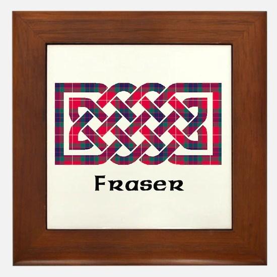 Knot - Fraser Framed Tile