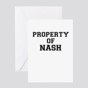 Property of NASH Greeting Cards