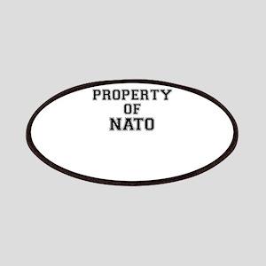 Property of NATO Patch