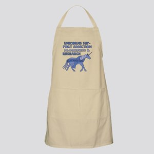 Unicorns Support Addiction Awareness Apron