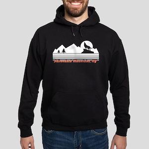 Adirondack Mountains NY Hoodie (dark)
