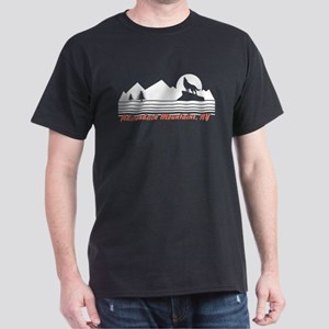 Adirondack Mountains NY Dark T-Shirt