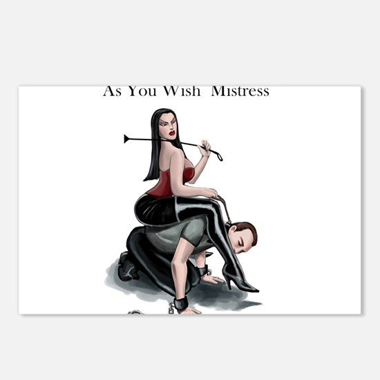 As You Wish Mistress Postcards (Package of 8)