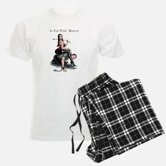 As You Wish Mistress Pajamas