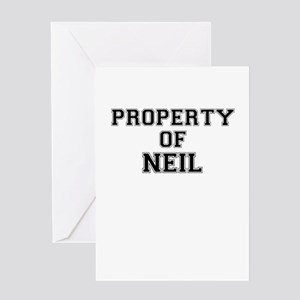 Property of NEIL Greeting Cards