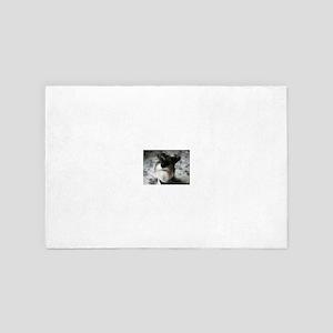 miniature-schnauzer 4' x 6' Rug
