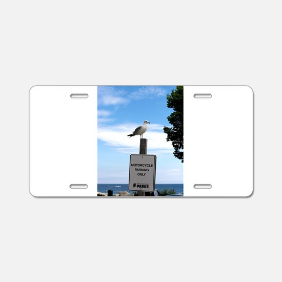 milwaukee-beachfront Aluminum License Plate