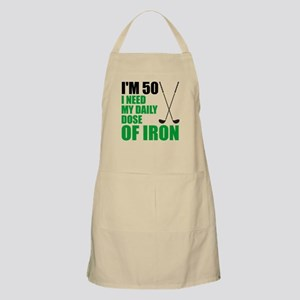 50 Daily Dose Of Iron Apron