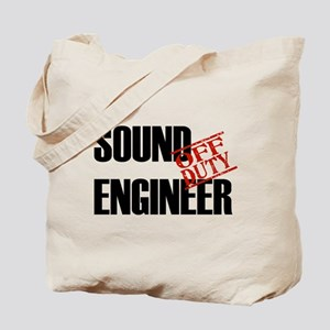 Off Duty Sound Engineer Tote Bag