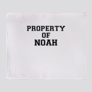 Property of NOAH Throw Blanket