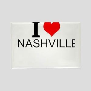 I Love Nashville Magnets