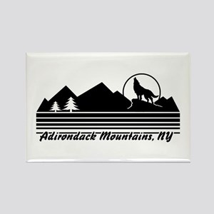 Adirondack Mountains NY Rectangle Magnet
