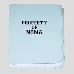 Property of NOMA baby blanket