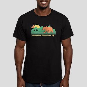 Adirondack Mountains N Men's Fitted T-Shirt (dark)