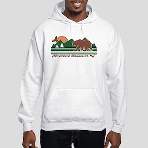 Adirondack Mountains NY Hooded Sweatshirt
