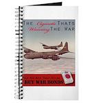 World War 2 Lucky Strike Poster Journal