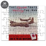 World War 2 Lucky Strike Poster Puzzle