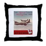 World War 2 Lucky Strike Poster Throw Pillow