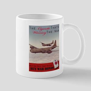 World War 2 Lucky Strike Poster Mugs