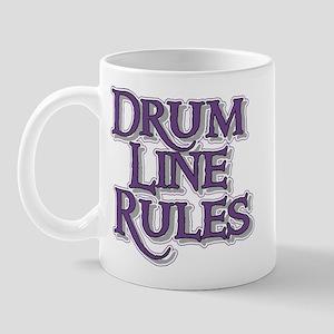 Drum Line Rules Mug
