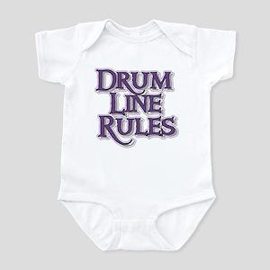 Drum Line Rules Infant Bodysuit
