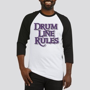 Drum Line Rules Baseball Jersey