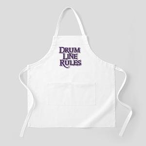 Drum Line Rules BBQ Apron