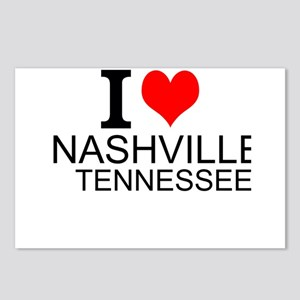I Love Nashville, Tennessee Postcards (Package of