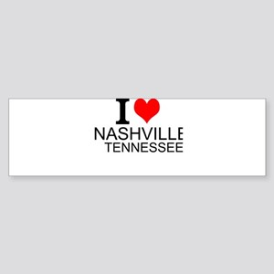 I Love Nashville, Tennessee Bumper Sticker