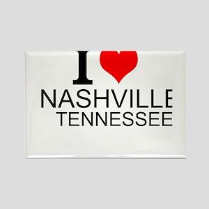 I Love Nashville, Tennessee Magnets