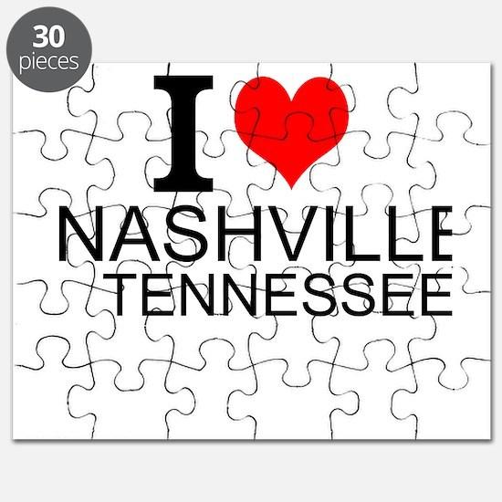 I Love Nashville, Tennessee Puzzle