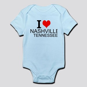 I Love Nashville, Tennessee Body Suit