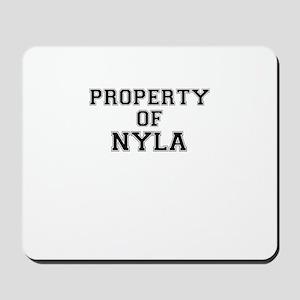 Property of NYLA Mousepad