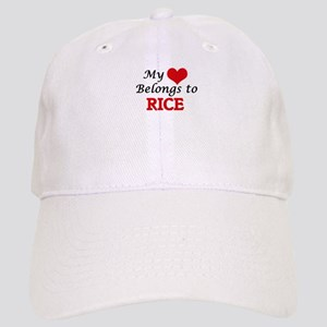 My Heart Belongs to Rice Massachusetts Cap