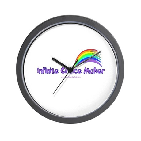 Infinite Choice Maker Wall Clock