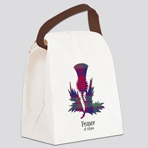 Thistle - Fraser of Altyre Canvas Lunch Bag