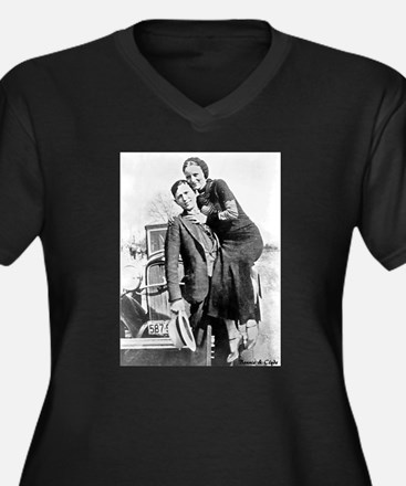 Bonnie and Clyde Plus Size T-Shirt