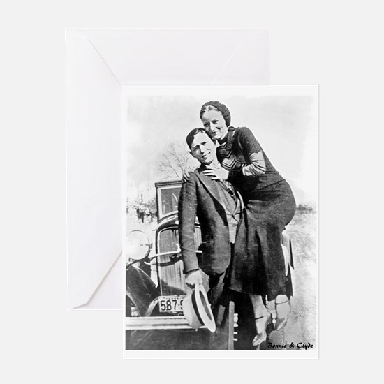 Bonnie and Clyde Greeting Cards