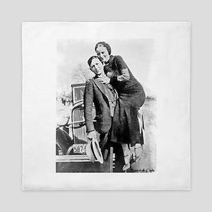 Bonnie and Clyde Queen Duvet