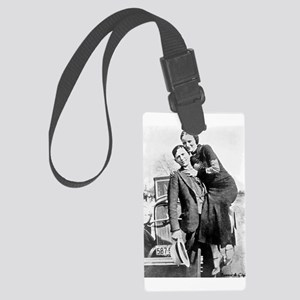 Bonnie and Clyde Luggage Tag