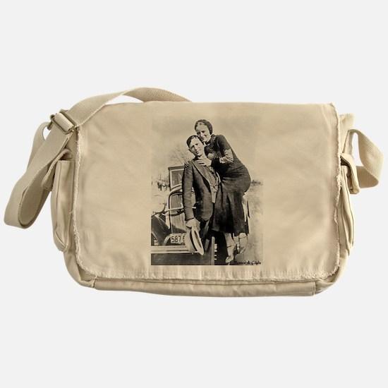 Bonnie and Clyde Messenger Bag