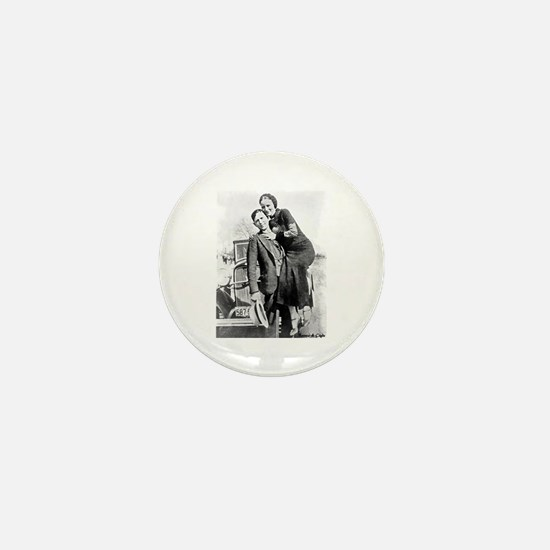 Bonnie and Clyde Mini Button