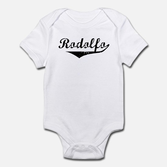 Rodolfo Vintage (Black) Infant Bodysuit