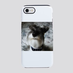 miniature-schnauzer iPhone 8/7 Tough Case