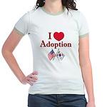 I Love Adoption (Korea/USA) Jr. Ringer T