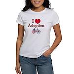 I Love Adoption (Korea/USA) Women's T
