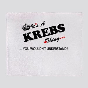 KREBS thing, you wouldn't understand Throw Blanket