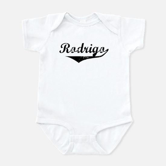 Rodrigo Vintage (Black) Infant Bodysuit