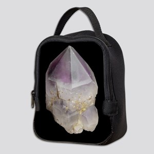 Amethyst Crystal Neoprene Lunch Bag